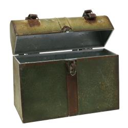 Pflanzgefäß Koffer mit Deckel