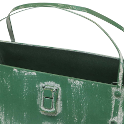 Pflanzgefäß Tasche Metall