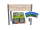 Hochbeet Terrasse Kräuterbeet - Rustikale Optik Komplett mit Bio Erde und Kräutern