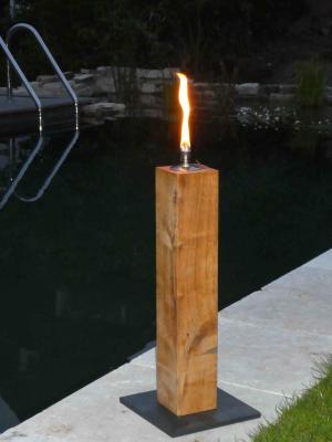 Gartenfackel Feuersäule 50cm