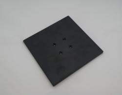 Metallfuß Bodenplatte