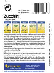 Zucchini Coucourzelle,Kiepenkerl