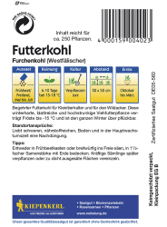 Futterkohl Westfälischer Furchenkohl, Kiepenkerl