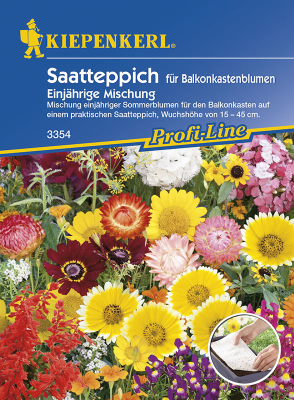 Saatteppich für Balkonkastenblumen, Kiepenkerl