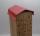 Wildbienenhoteldach Rot